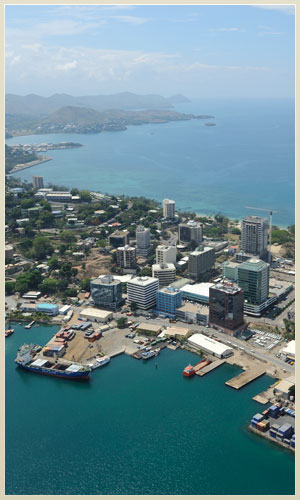 offices in Port Moresby and Brsbane